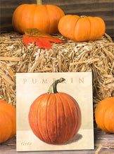 PUMPKIN GICLEE WALL ART