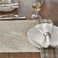 Lace Placemat - Cream