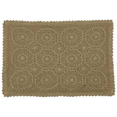 Lace Placemat - Tan
