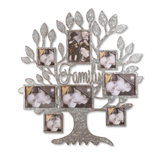 Metal Tree Of Life Wall Mounted Photo Frame