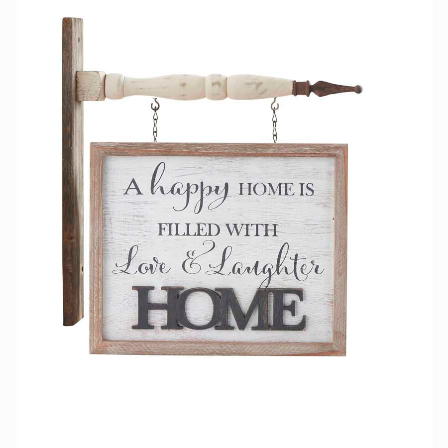 White Washed HOME Arrow Replacement