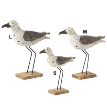 Standing Seagull With Metal Legs - 3 Sizes