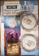 Water LED Tealight w. Light String