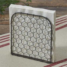 Chicken Wire Lunch Napkin Holder