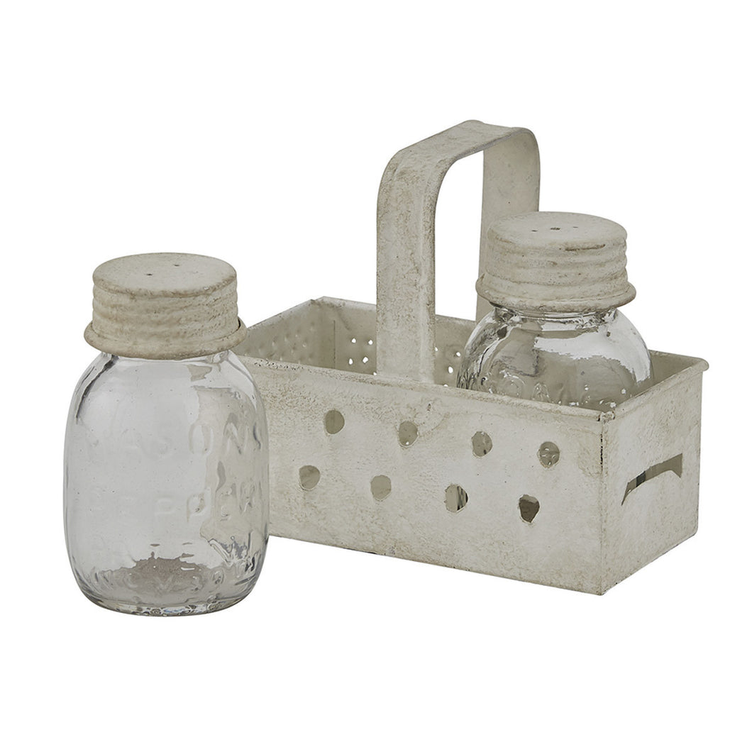 Grater Salt & Pepper Caddy
