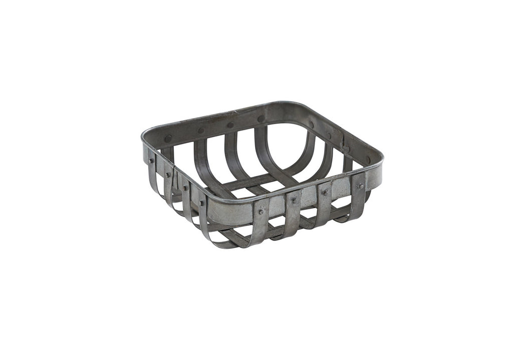 Basket Weave Beverage Napkin Holder - 2 Sizes