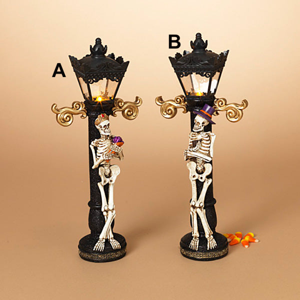 Halloween Lamp Post - B Available