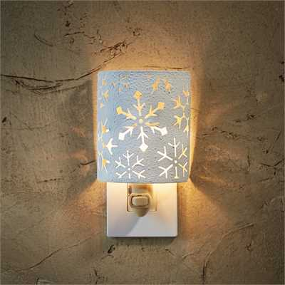 Snowflake Electric Night Light