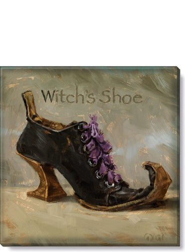 WITCH'S SHOE GICLEE WALL ART