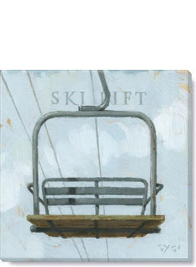 Ski Lift Wall Art - 2 Sizes