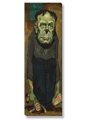 FRANKENSTEIN GICLEE WALL ART