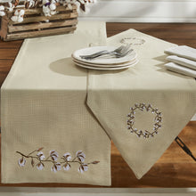 Cotton Wreath Table Runner - 2 Sizes