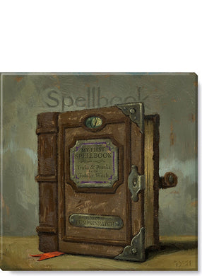 SPELLBOOK GICLEE WALL ART