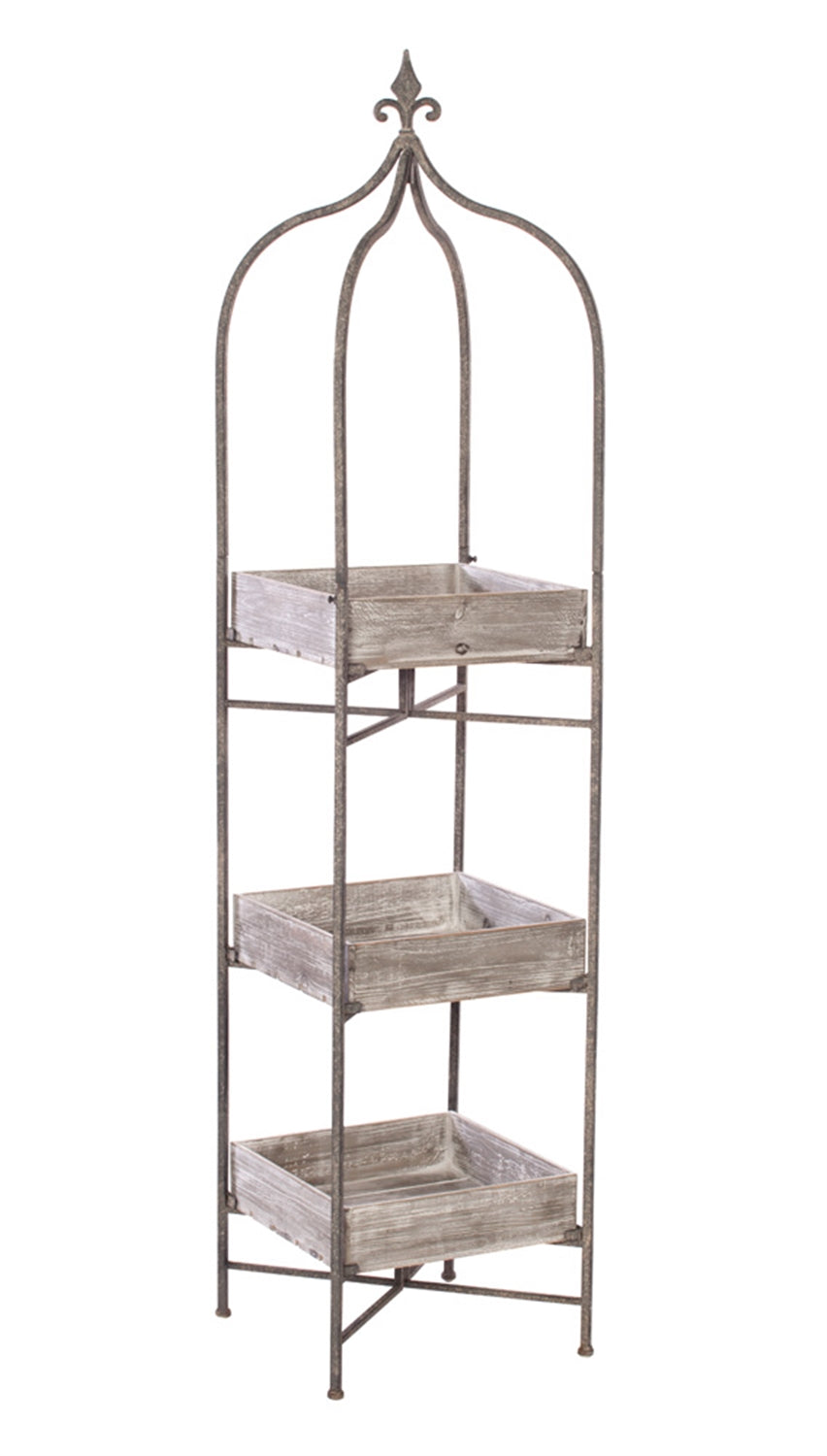 Stand w/ 3 Shelves