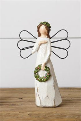 Angel w. Wreath