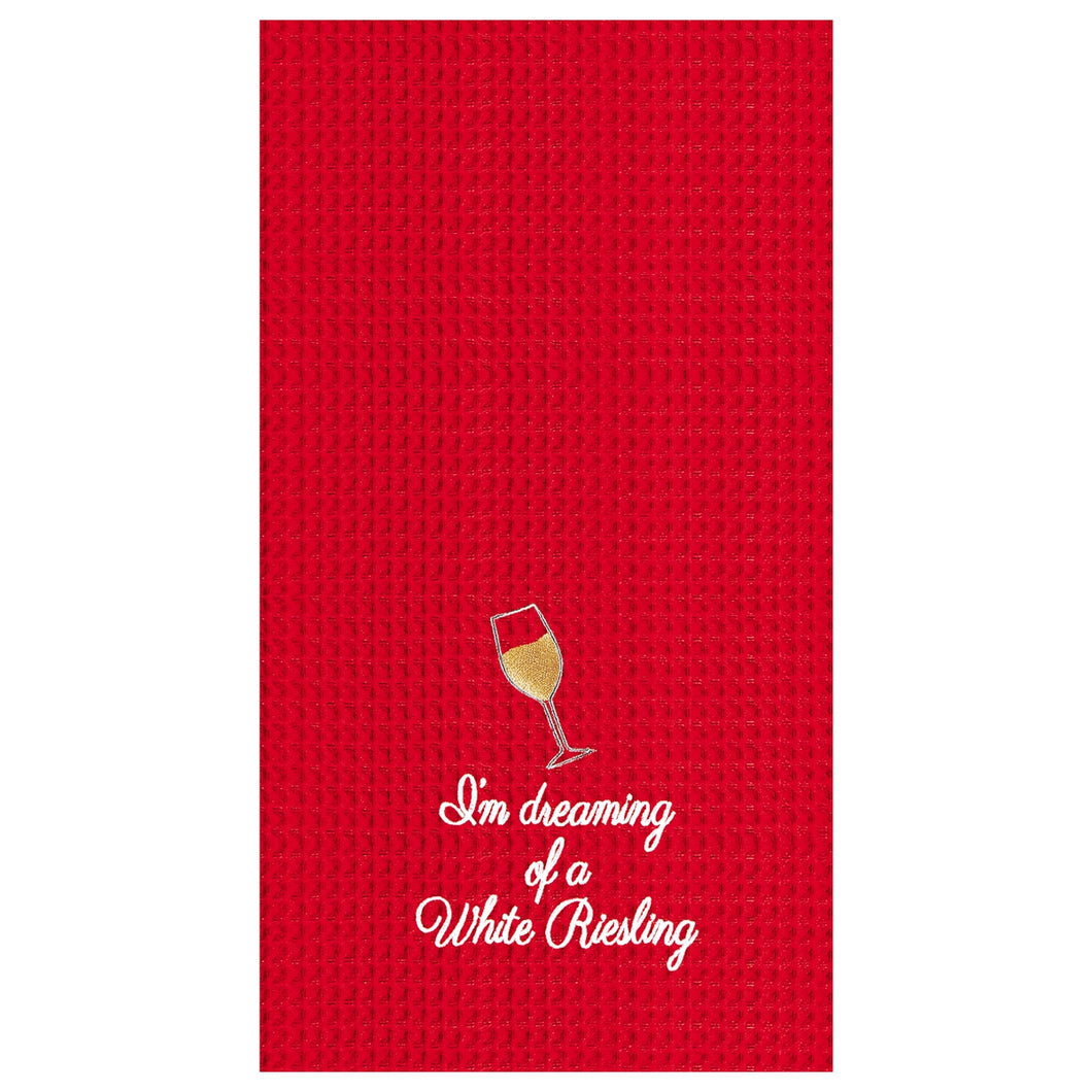 White Riesling Towel