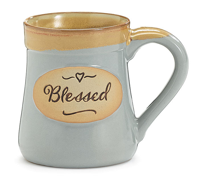 BLESSED Porcelain Mug