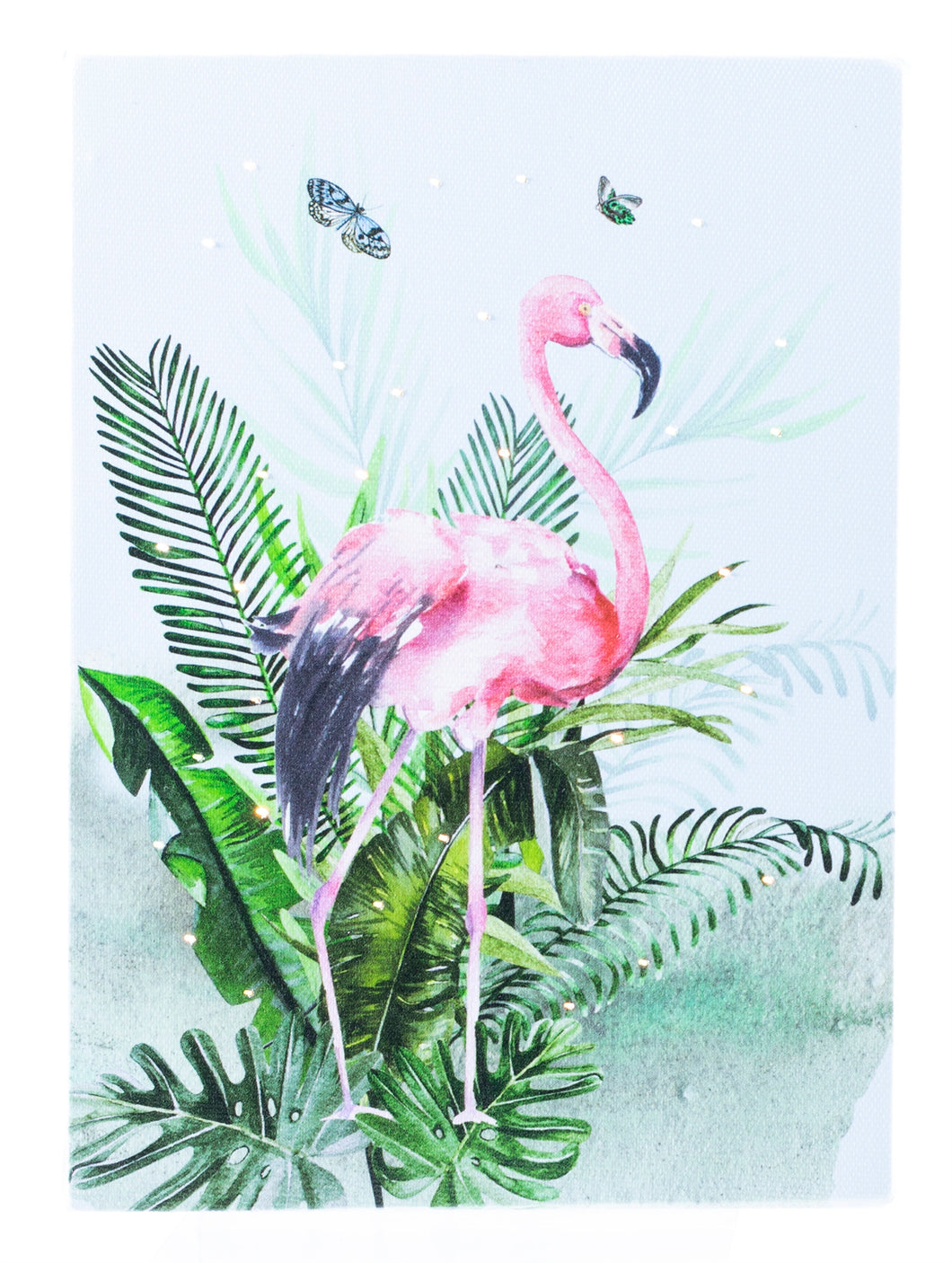 Flamingo Lighted Print
