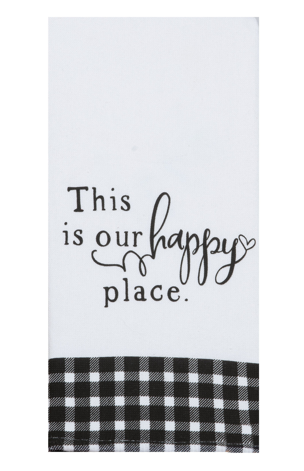 This is our Happy Place Dual Purpose Terry Towel
