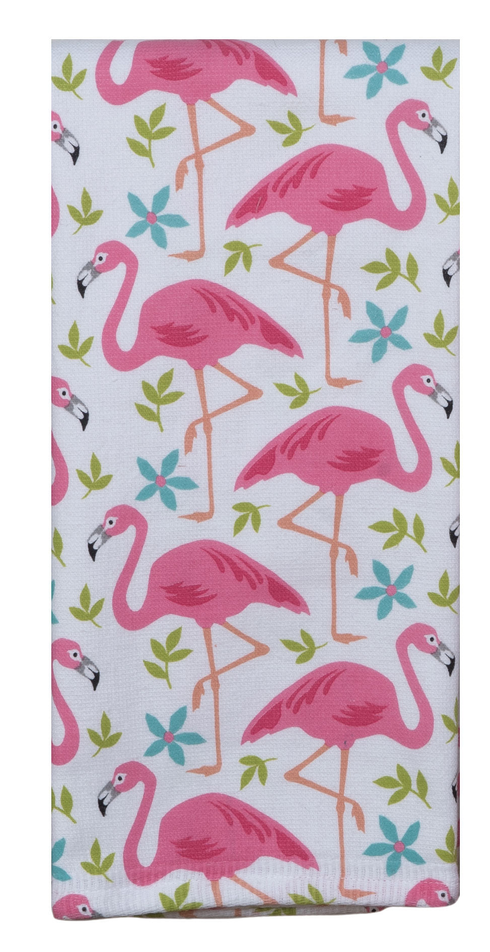 Flamingo Toss Dual Purpose Terry Towel