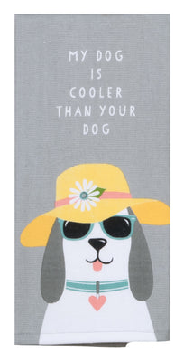 Dog Patch Cool Dog Dual Purpose terry Towel