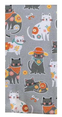 Cat Patch Dual Purpose Terry Towel