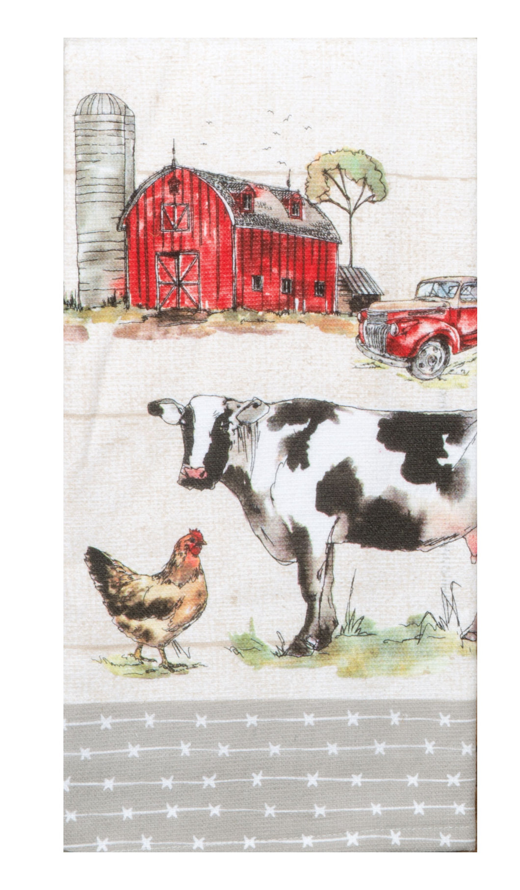 Country Life Dual Purpose Terry Towel