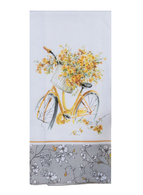 Sweet Home Bicycle Tea Towel
