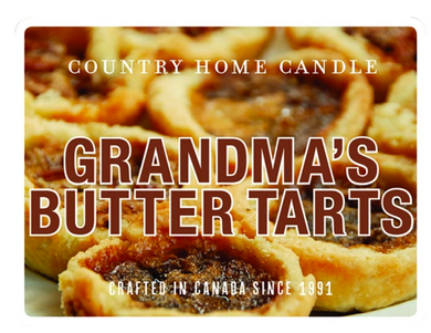 Grandma's Butter Tarts - Country Home Candle