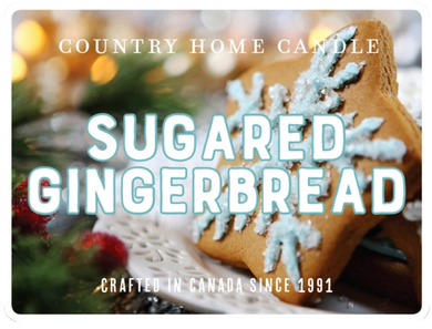 Sugared Gingerbread - Country Home Candle