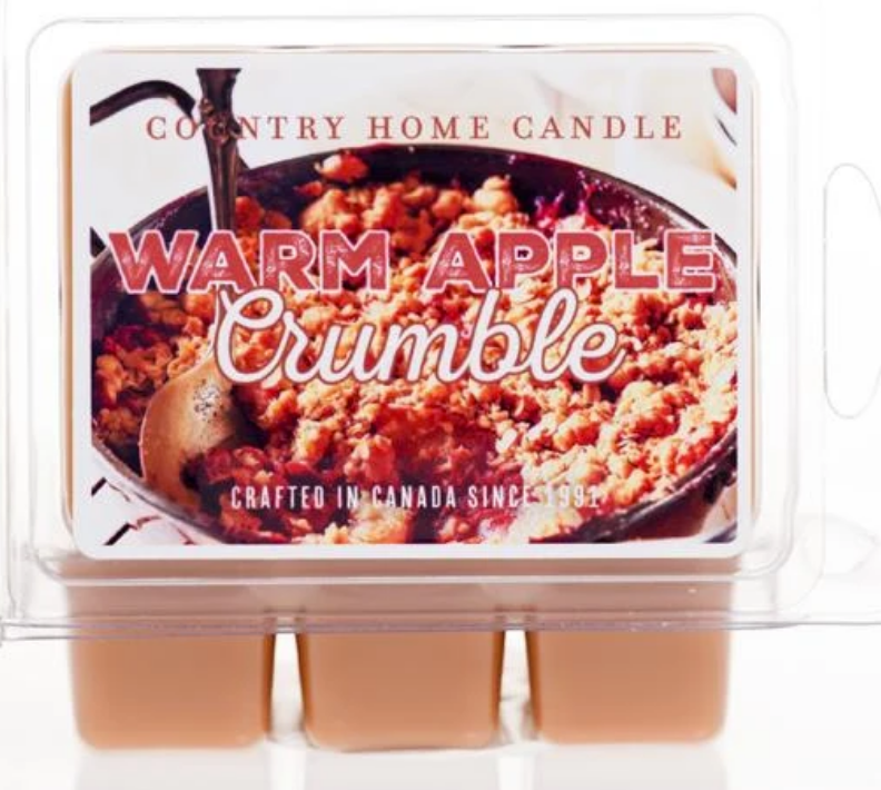 Warm Apple Crumble - Country Home Candle