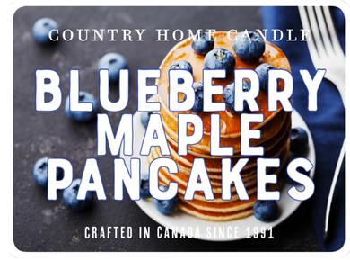 Blueberry Maple Pancakes - Country Home Candle