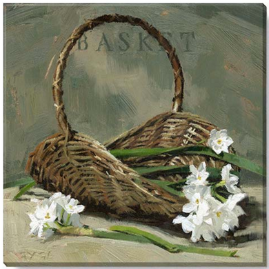 Easter Basket Wall Art