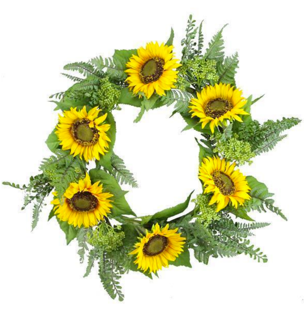 Sunflower Wreath - 24
