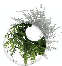 "12"" Eucalyptus Candle Ring"