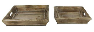 Wood Tray - 2 Sizes