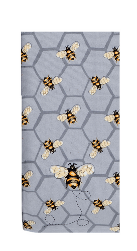 Bee Inspired All Over Bee Dual Purpose Terry Towel