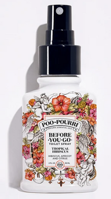 Tropical Hibiscus Poo-Pourri - 2 Sizes