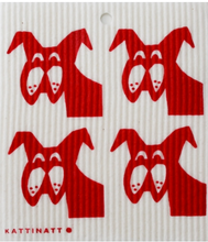 Dogs - Kattinatt Dishcloth