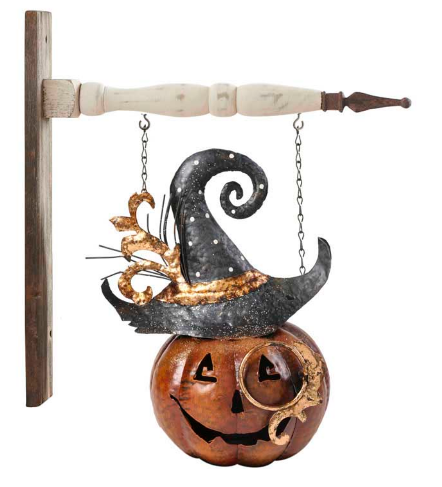 Metal Jack O Lantern With Hat Arrow Replacement