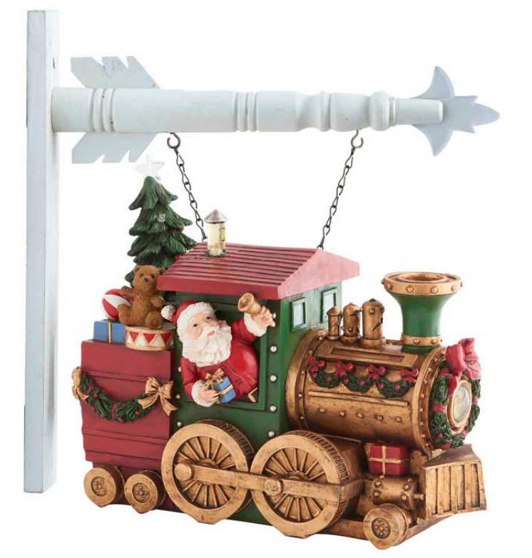Santa Train With Toys and LED Light Arrow Replacement