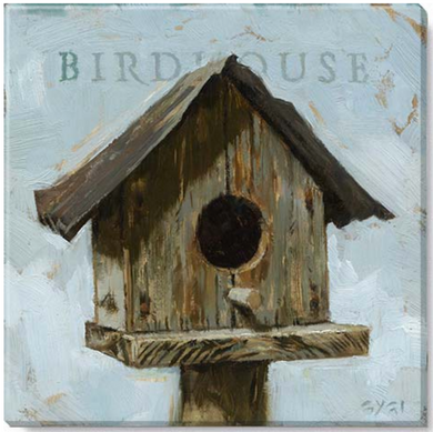 Birdhouse Wall Art