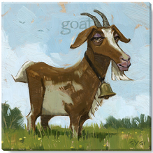 Fanciful Goat Wall Art