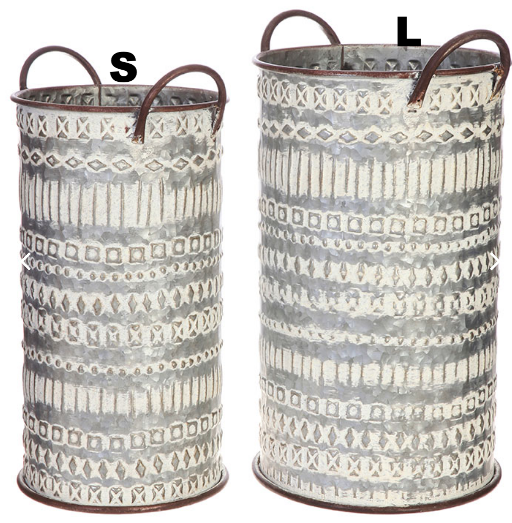 Stamped Buckets - 2 Sizes
