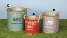 Farmers Market Bucket - B & C Avail
