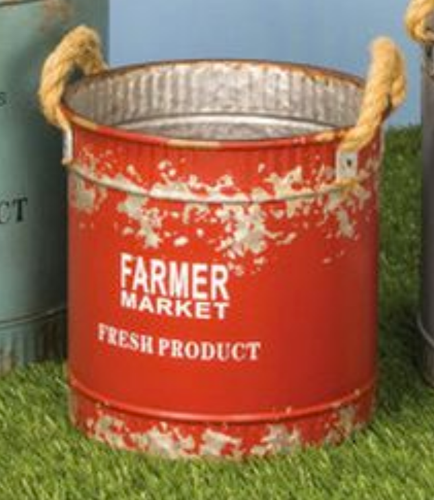 Farmers Market Bucket - 3 Sizes