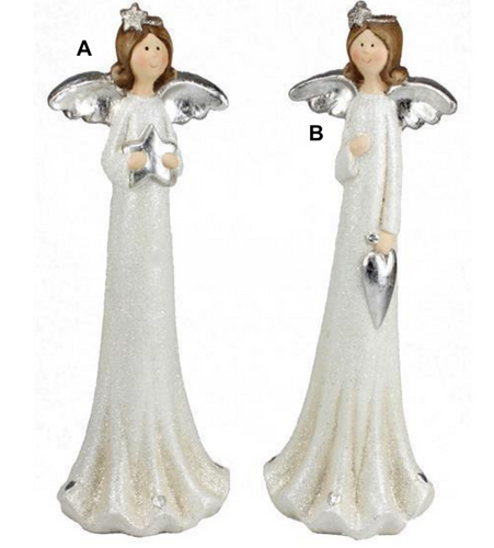White & Silver Angel - 2 Styles