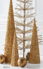 Gold Rock Cone Trees - Set of 3