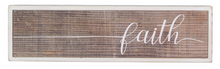 Wood Box Sign - 4 Styles
