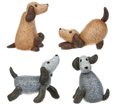 Dog Figurines - 4 Styles